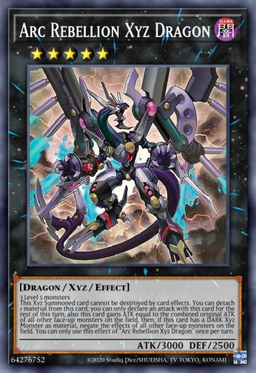 Arc Rebellion Xyz Dragon