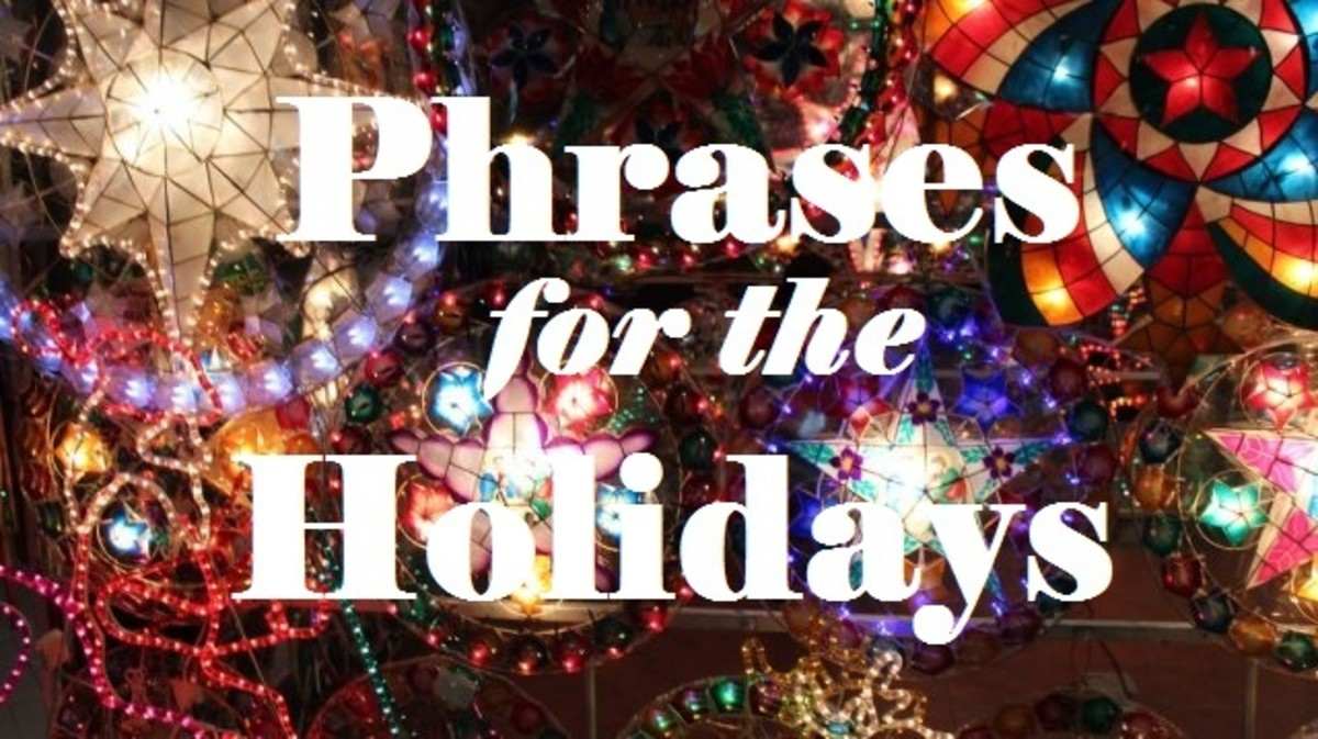 Learn more Tagalog phrases for the holidays.
