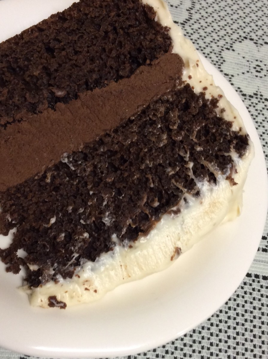 This no-fail high altitude chocolate cake is delicious!