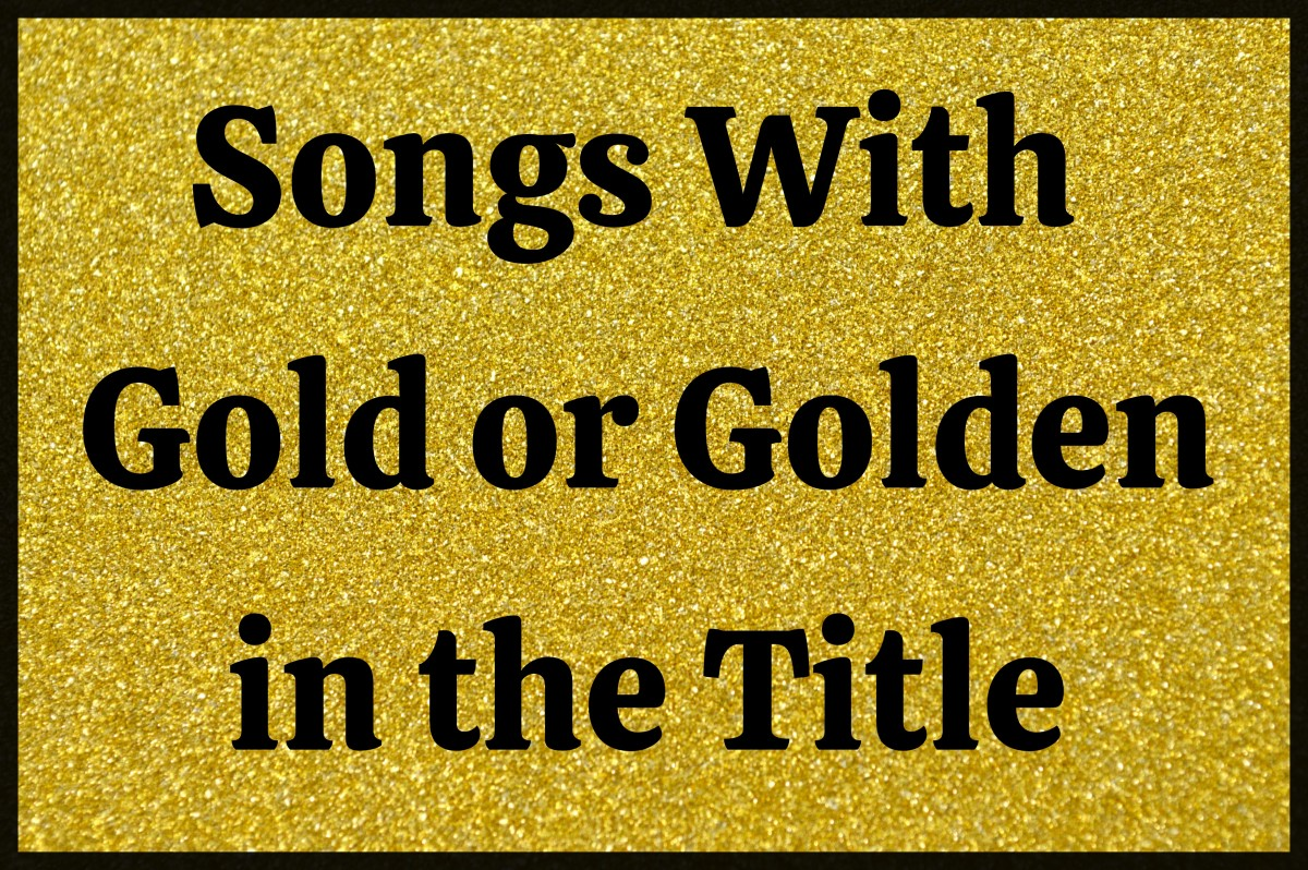 The color gold -- often bright and sparkly -- symbolizes wealth, success, and high value. Celebrate the prestigious and inspirational color gold with a playlist of pop, rock, country, and R&B songs.