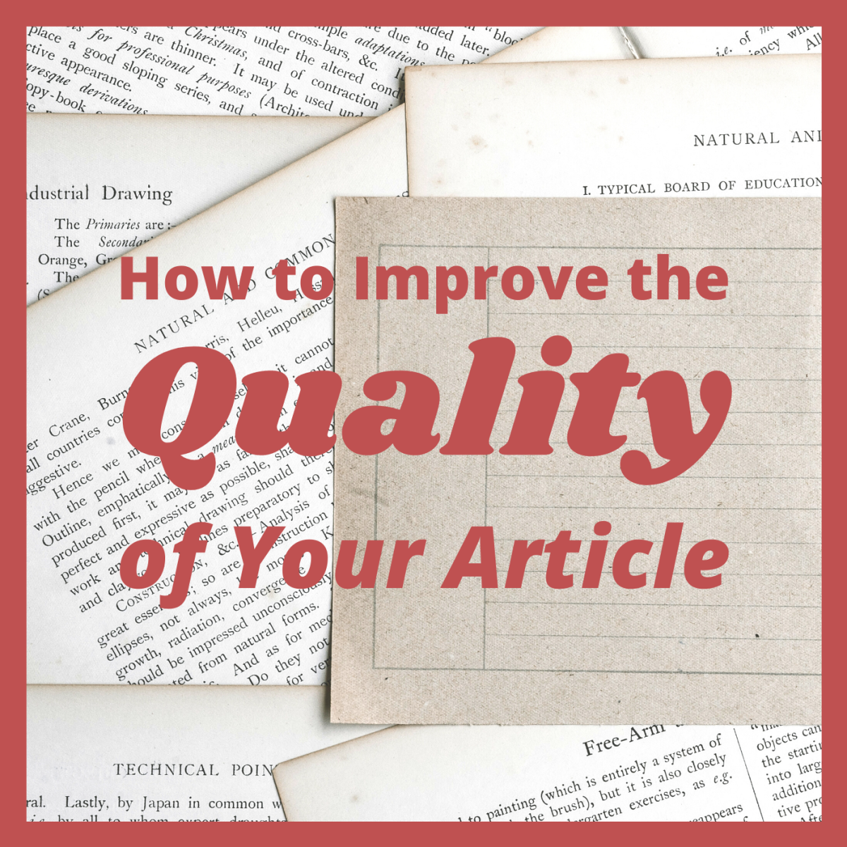 Your article's quality can affect its ranking, which will determine how many people see it in their search results.