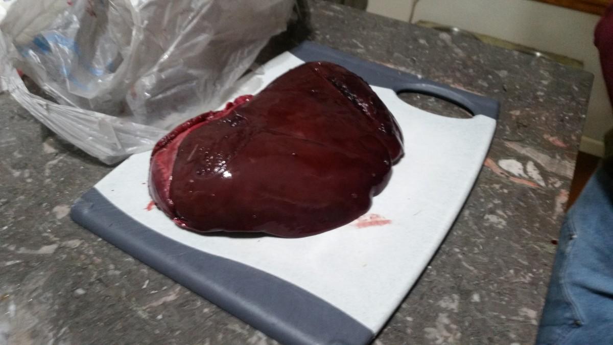 Deer liver