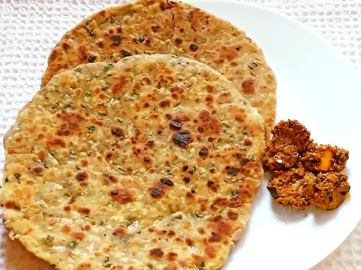 Punjabi Besan Paratha