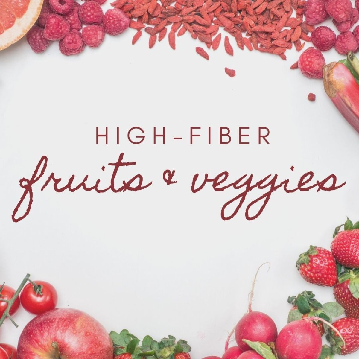 Which fruits and vegetables are high in fiber? Read on to find out!