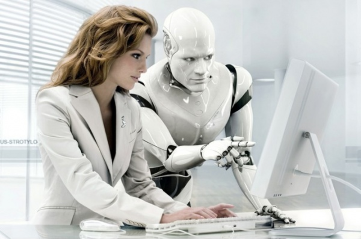 The intention of robotic intelligence is to complete human intellect.