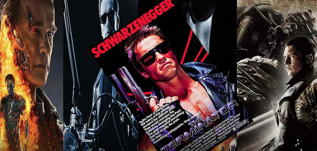 In 1984, the Terminator movie series began.