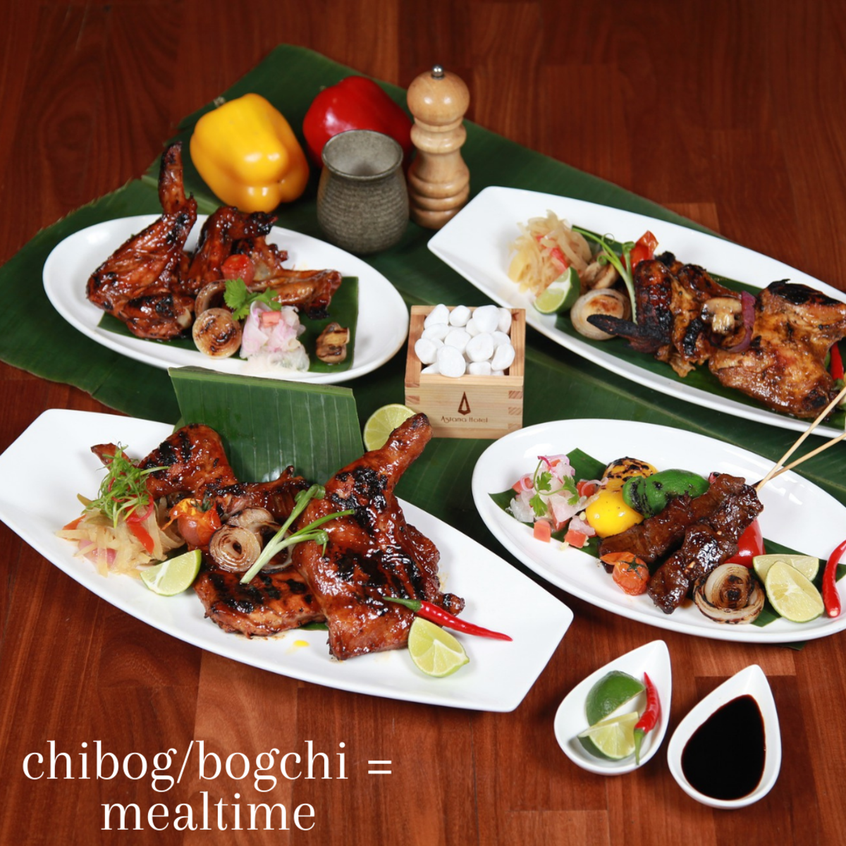 """If you're feeling hungry and wondering when your next meal might be, you're likely waiting for """"chibog"""" or """"bogchi,"""" which translates to """"mealtime."""""""