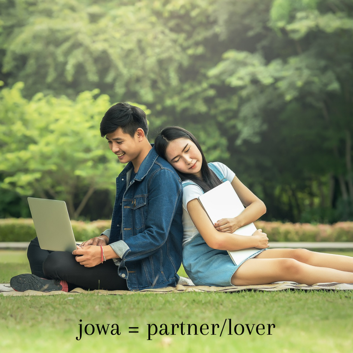"""Your partner, lover, or girlfriend/boyfriend is often referred to as your """"jowa"""" in Tagalog."""