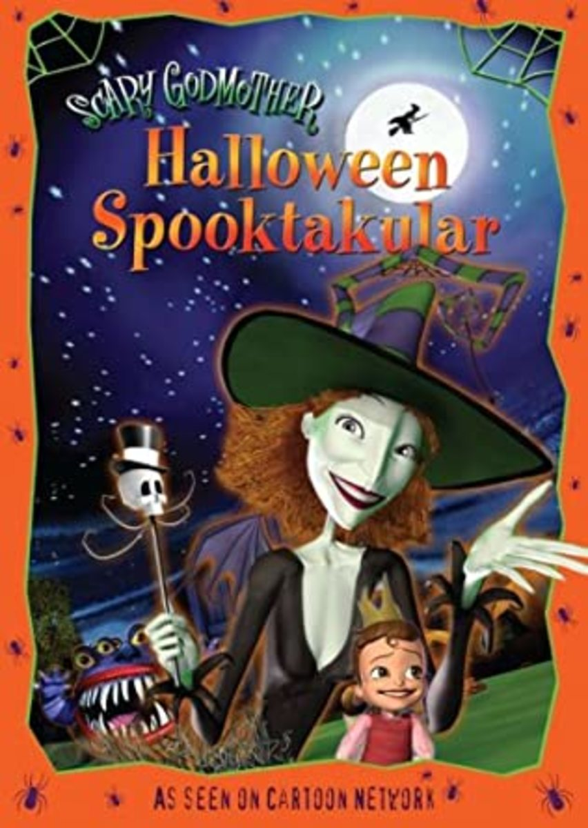 """""""Scary Godmother: Halloween Spectacular """"DVD Cover"""