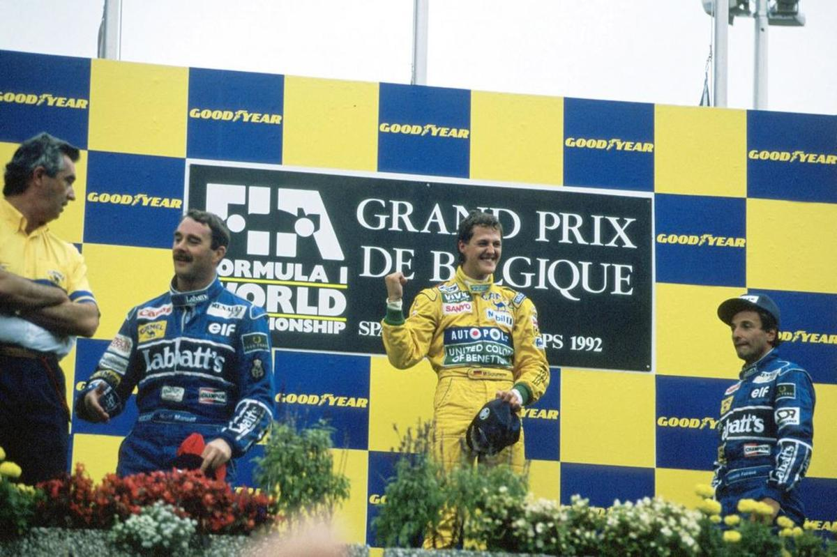 The 1992 Belgian GP: Michael Schumacher's 1st Career Win