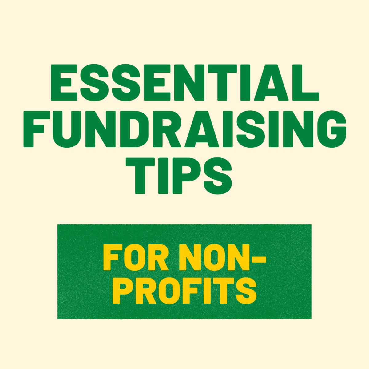 Find out how to fundraise for non-profits effectively!