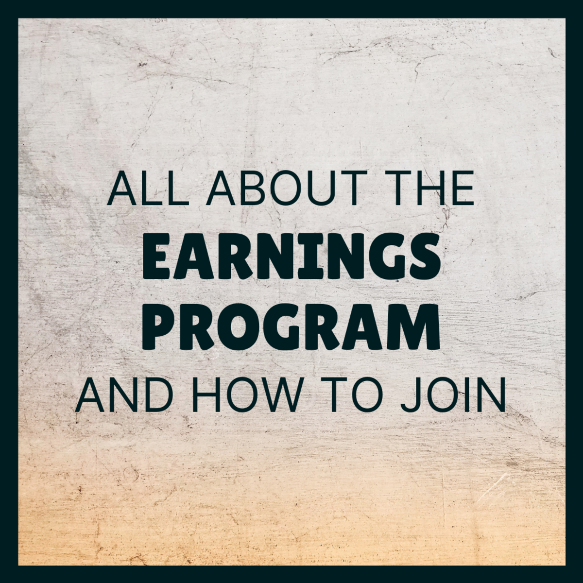Learn how to sign up for the Earnings Program and how it works.