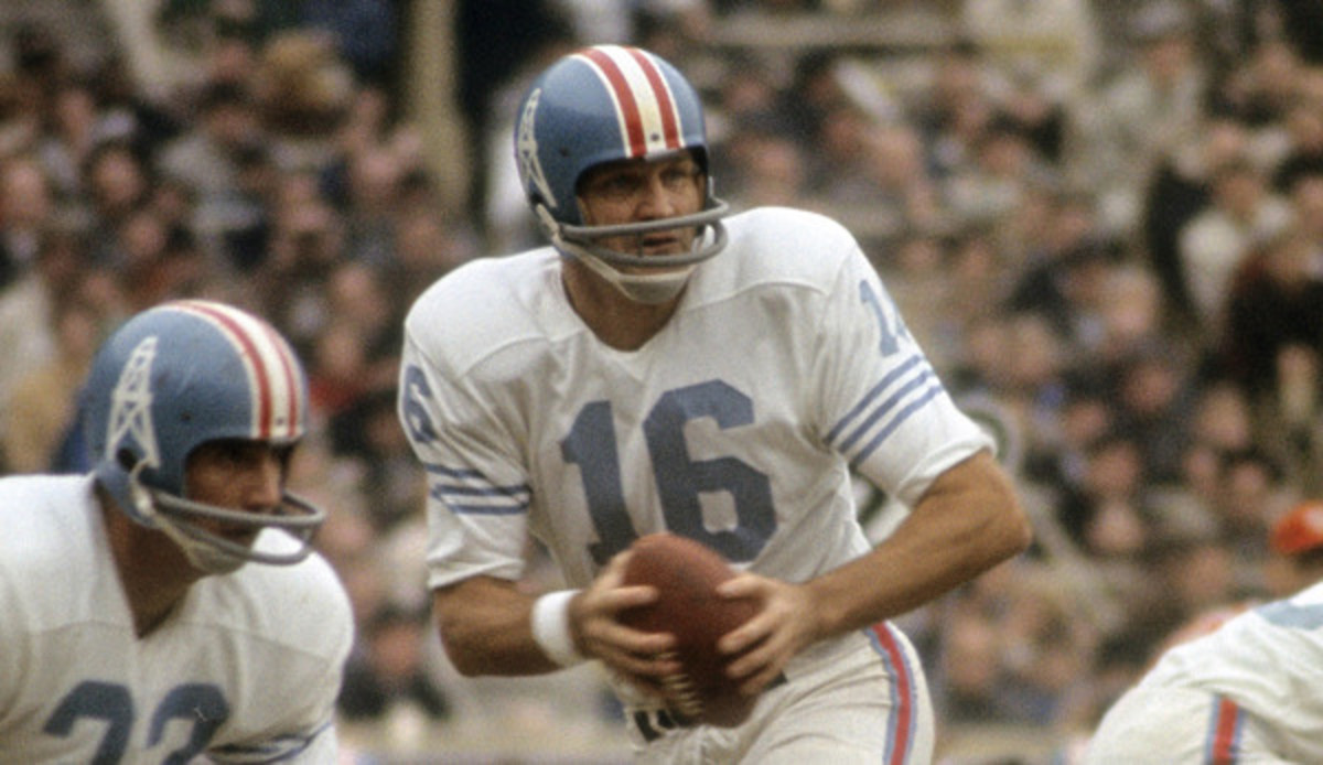 George Blanda with the Houston Oilers