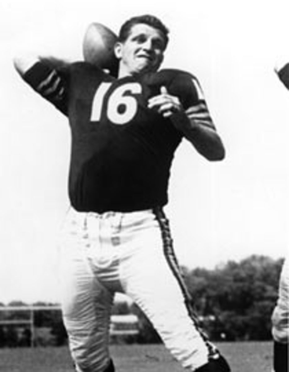 George Blanda with the Chicago Bears
