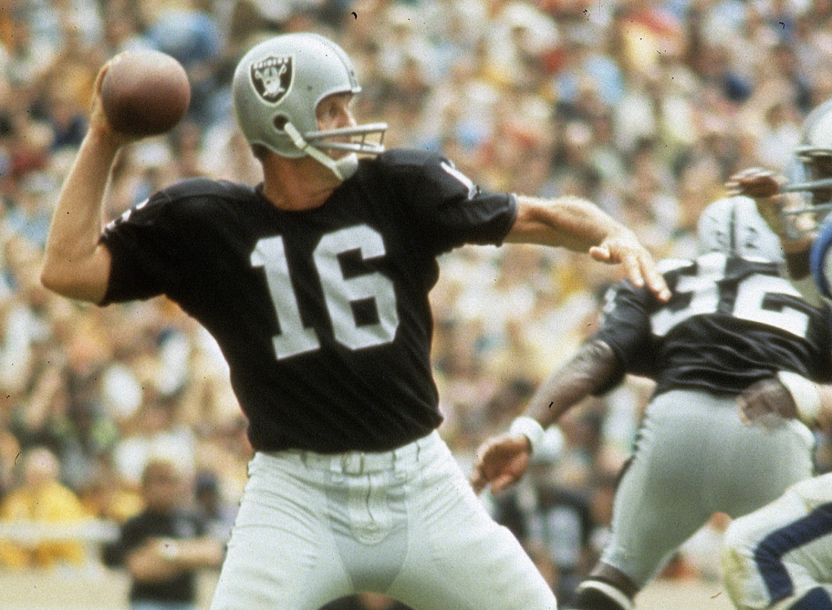George Blanda with the Oakland Raiders