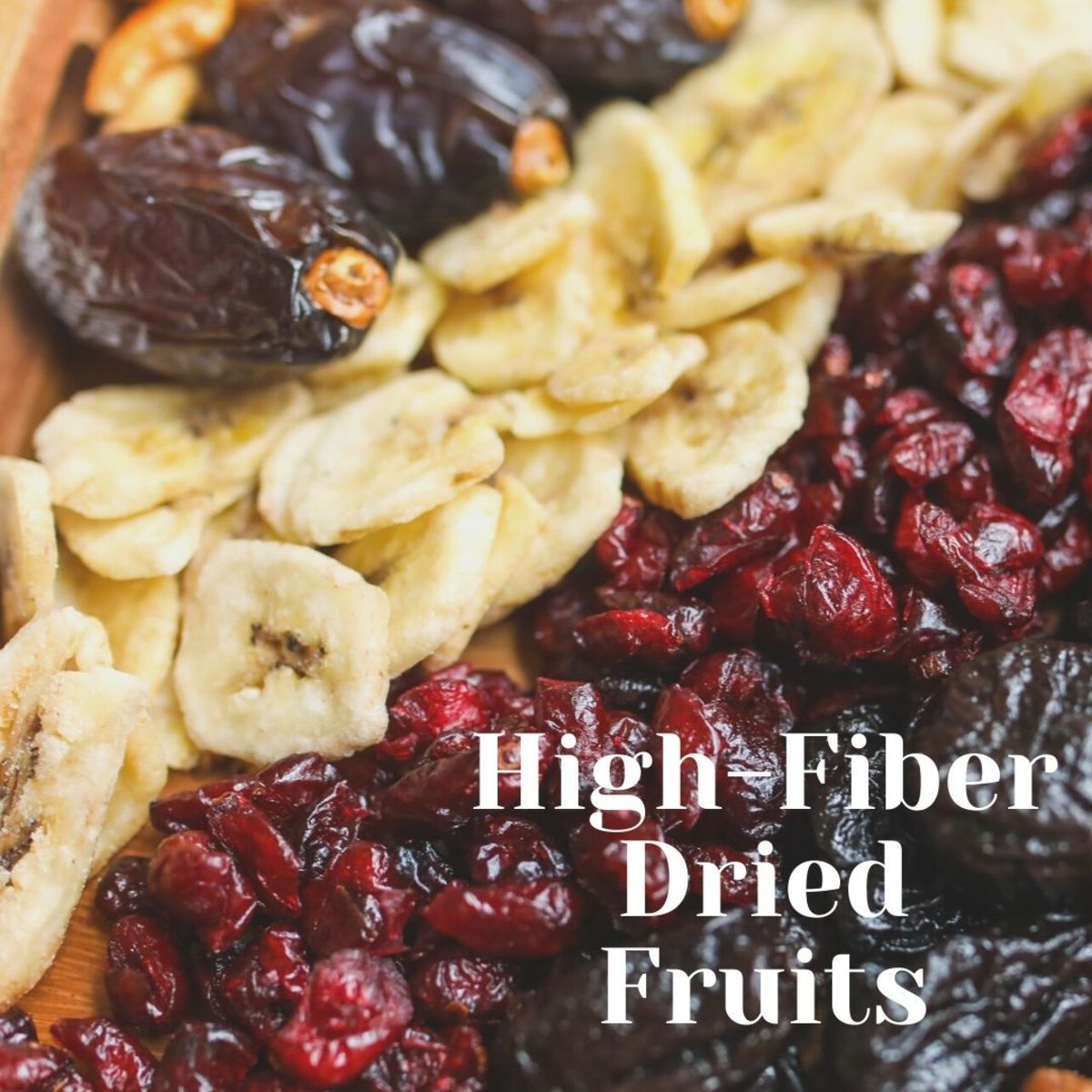 The drying process removes the water content from fruit, but it doesn't remove the nutrients—it just provides them in a more compact package.