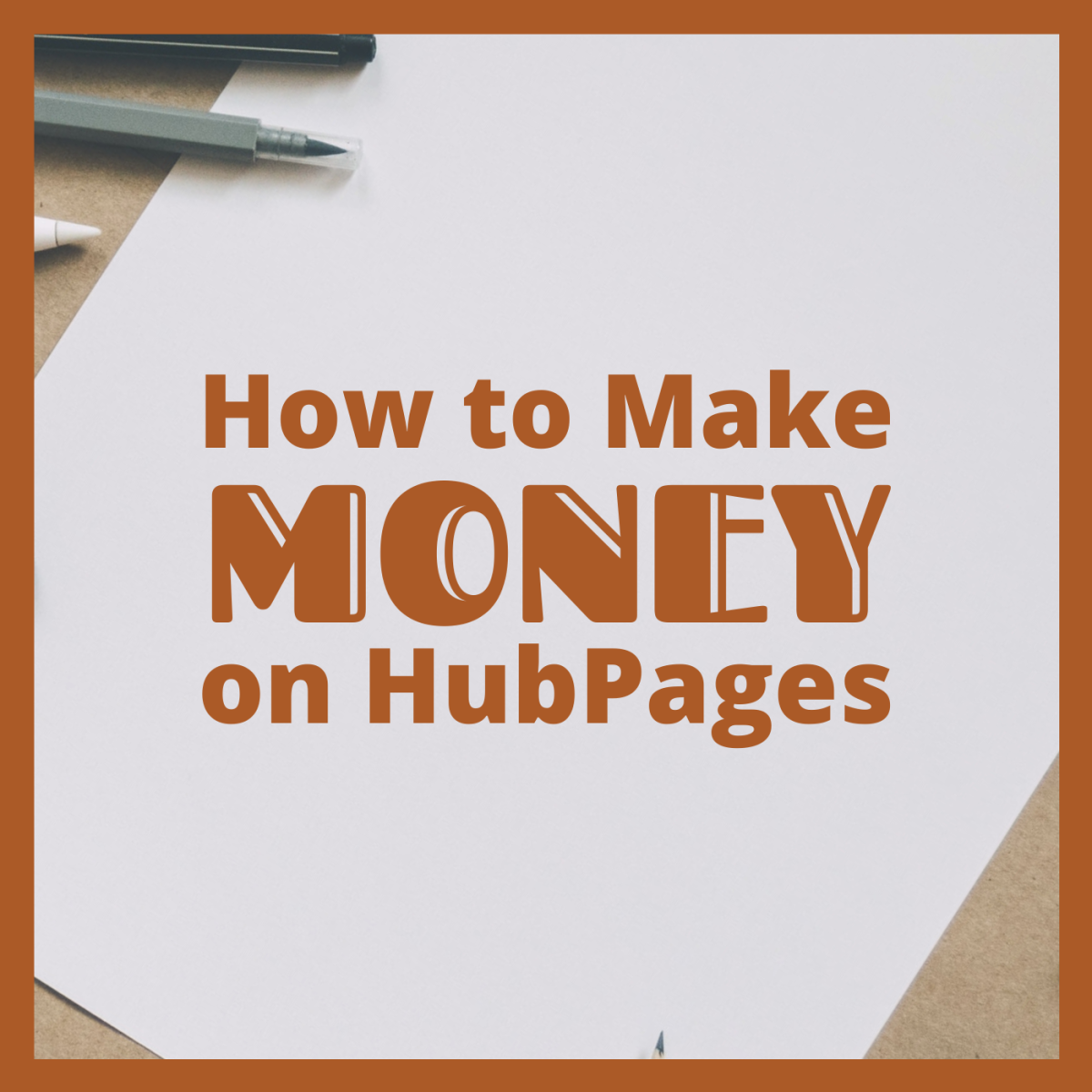 Learn how to turn your passion for writing and media into a modest passive income with HubPages.