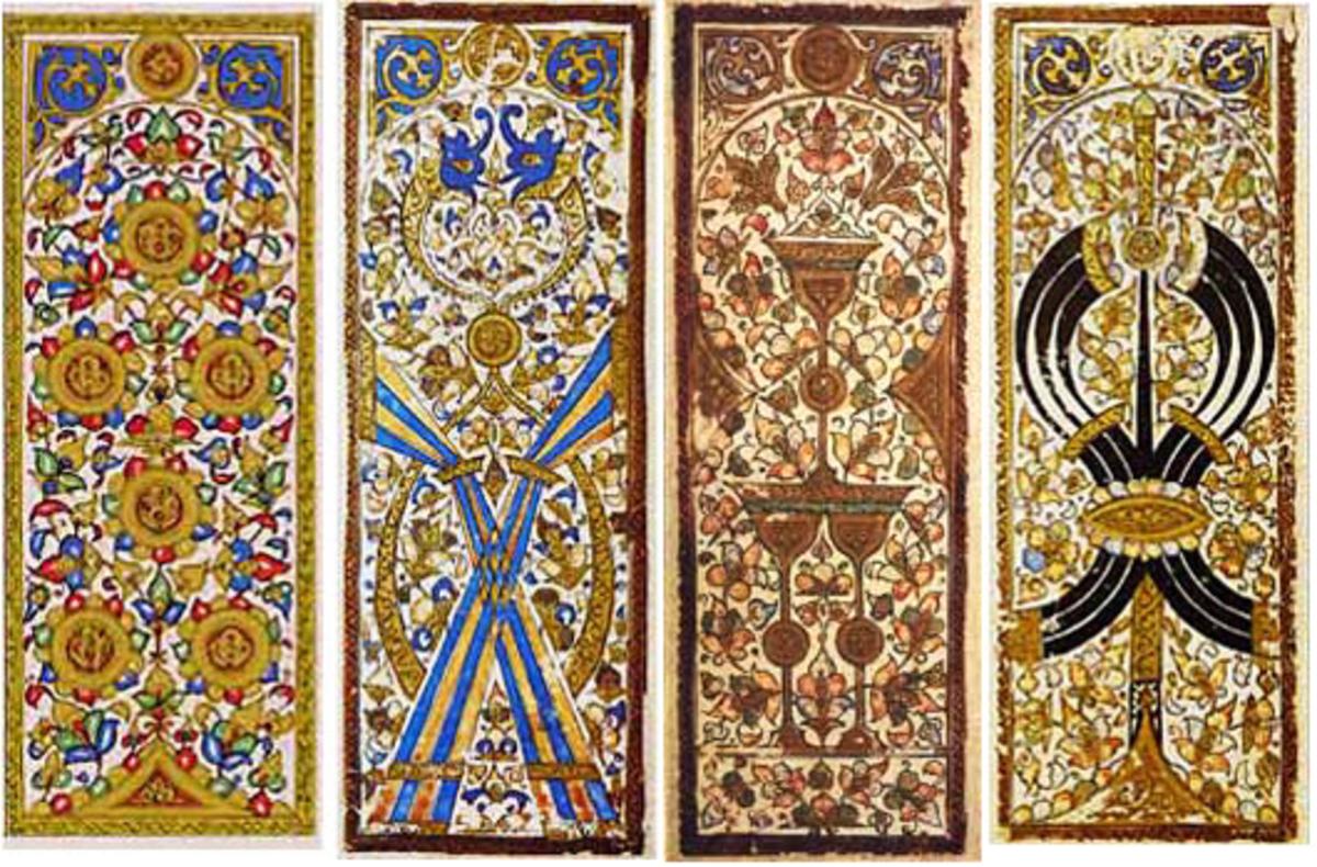 Mamluk Kanjifah cards (CC BY-SA 4.0)