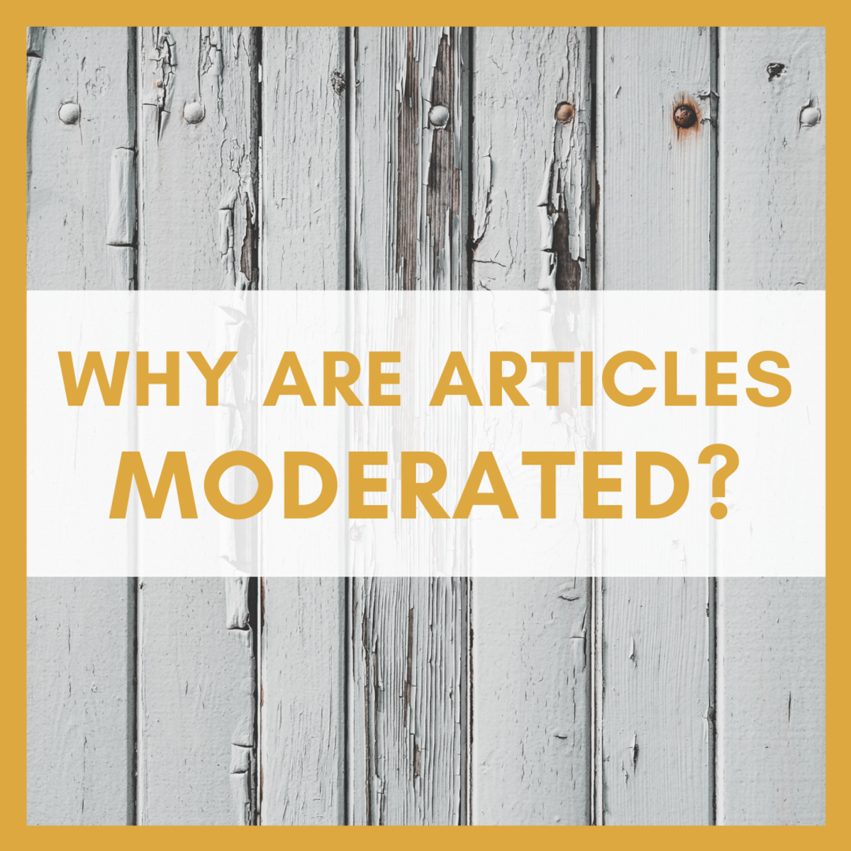 Reasons Why Articles Are Moderated (& How to Fix Them)