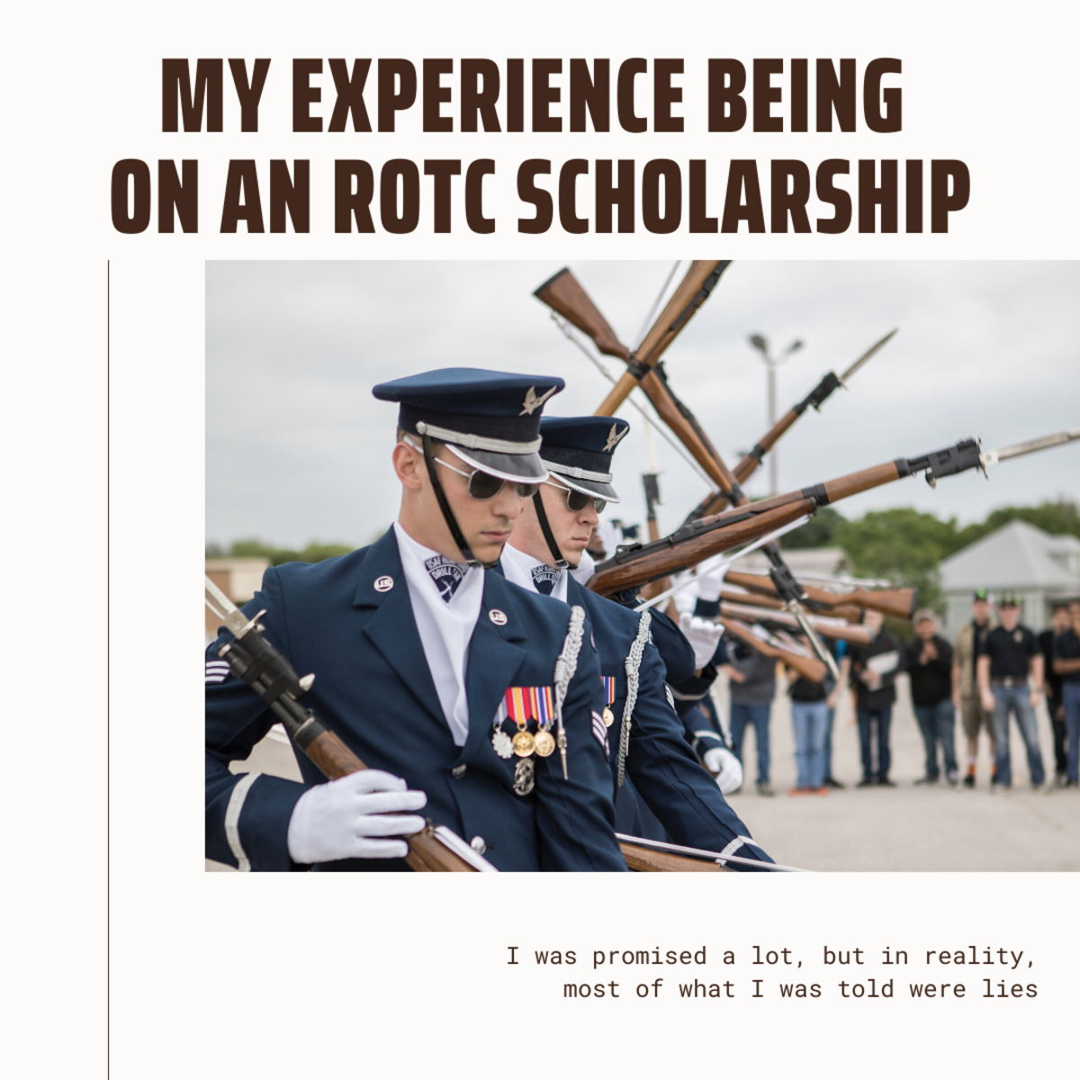 What are you really getting into with an NROTC or ROTC scholarship? There are some big surprises!
