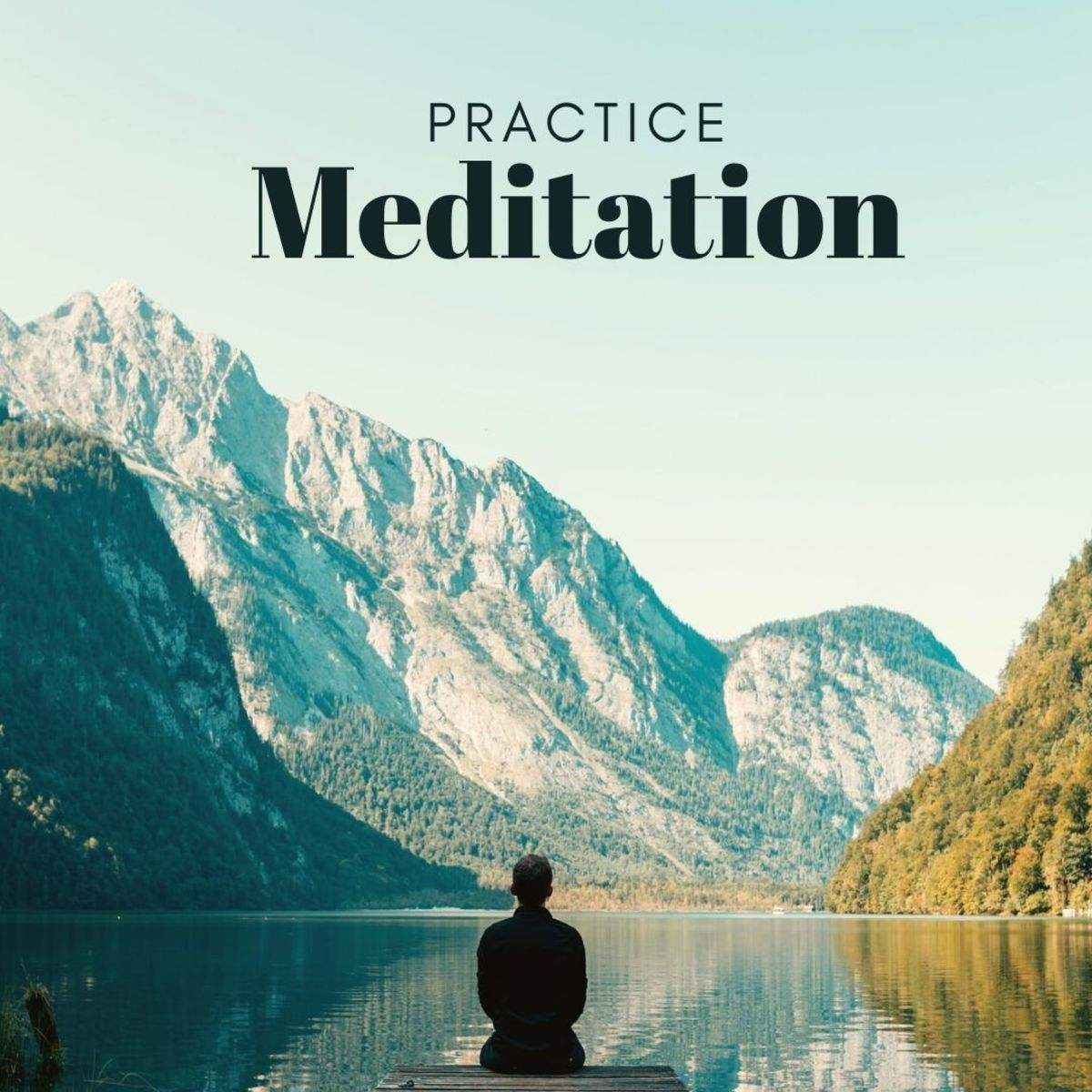 Practicing meditation will help you open your mind and become more receptive to the kind of introspection required for successful mindful writing.
