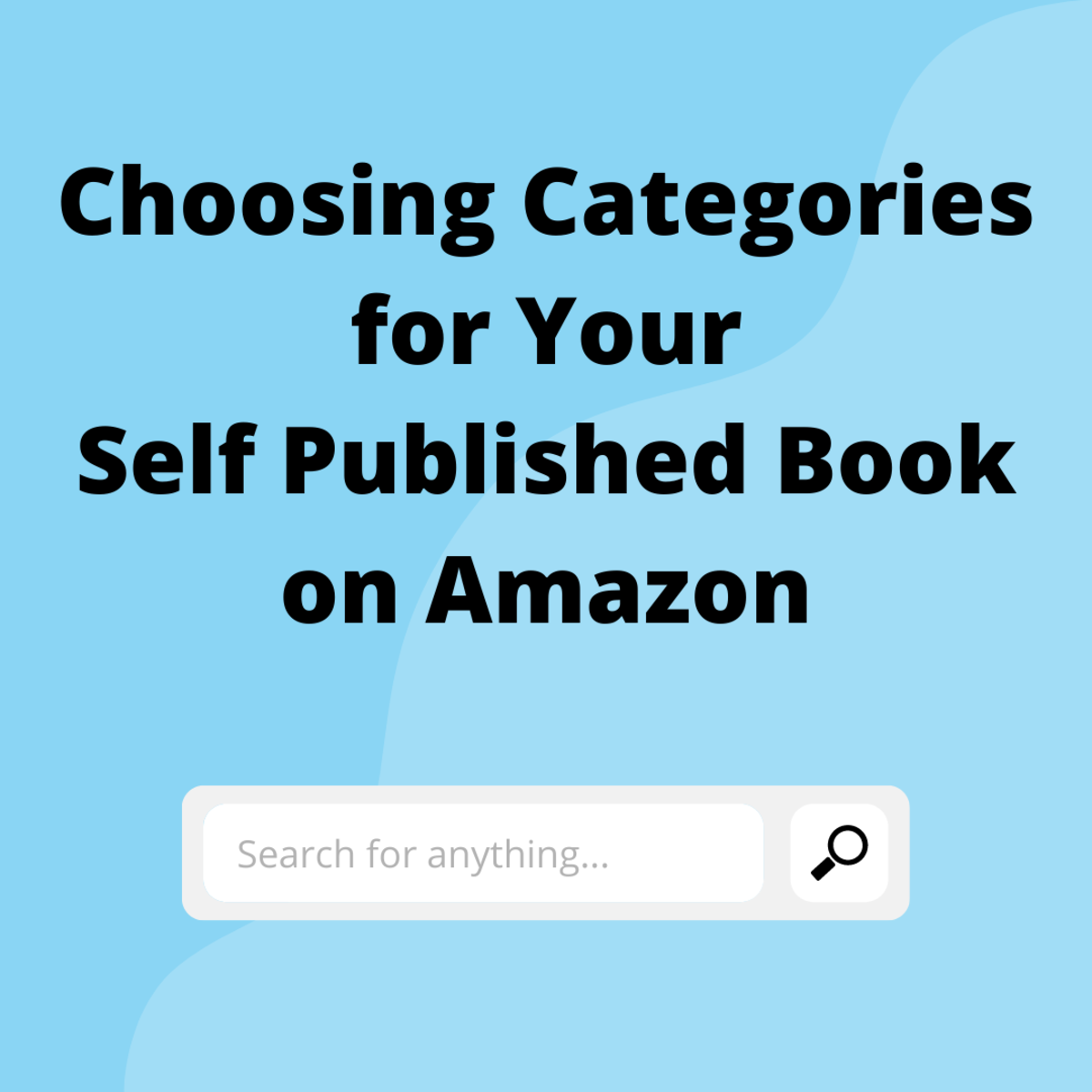 Choosing Categories for Your Self Published Book on Amazon