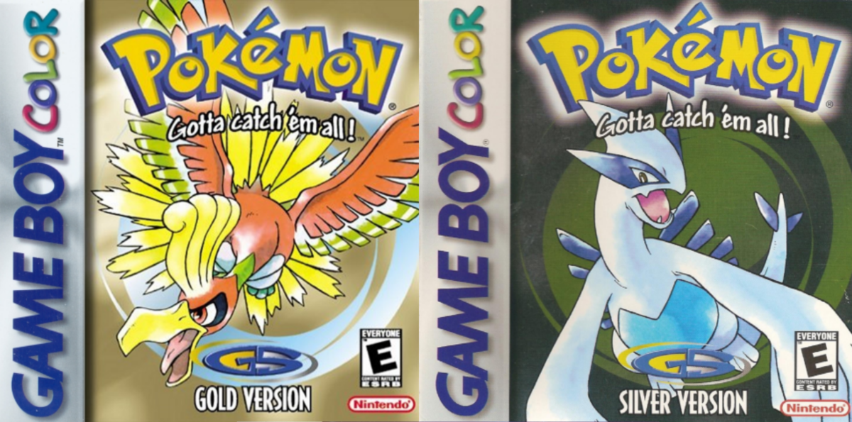 """Box art for """"Pokémon Gold and Silver"""""""