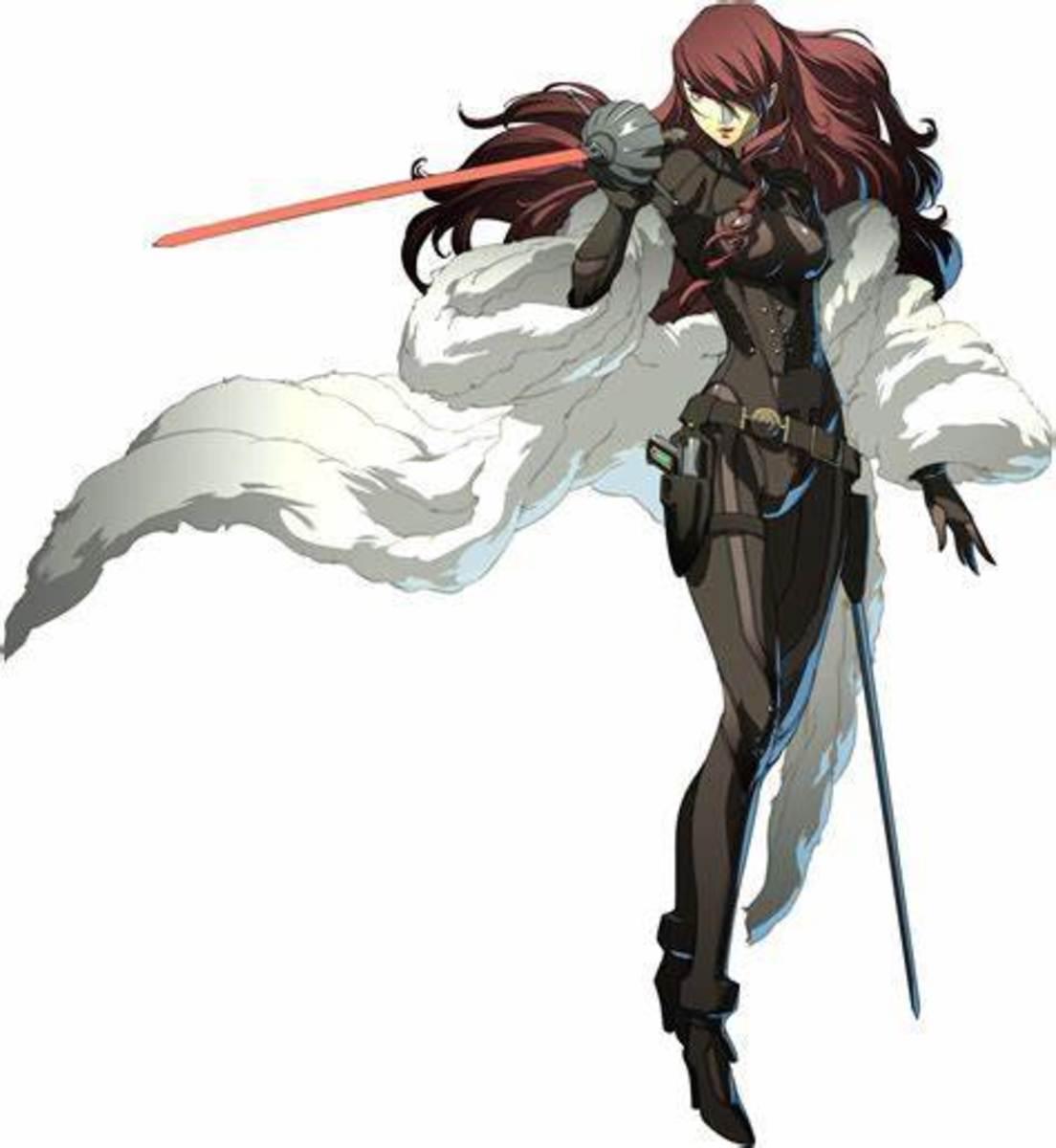 Mitsuru in Persona 4: Arena