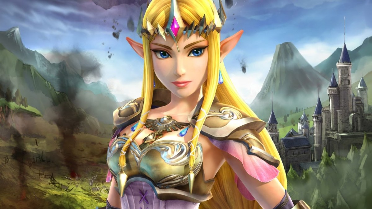 Princess Zelda in Hyrule Warriors