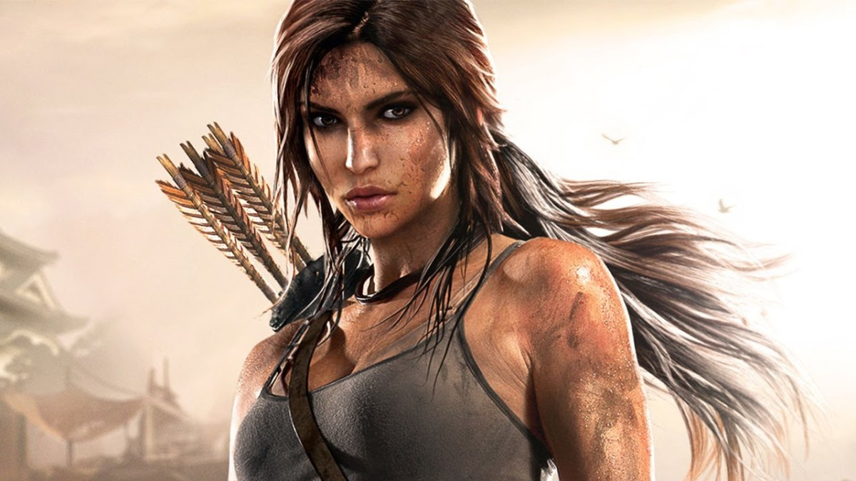 Lara Croft's updated design