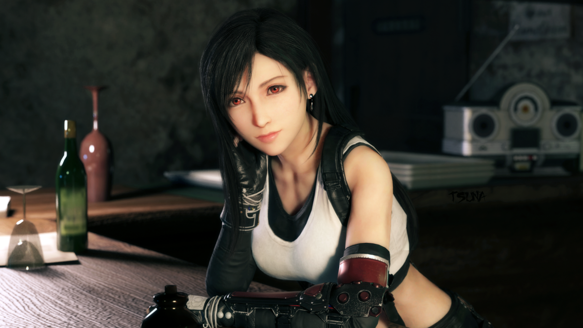 Tifa Lockhart in FF7 Remake