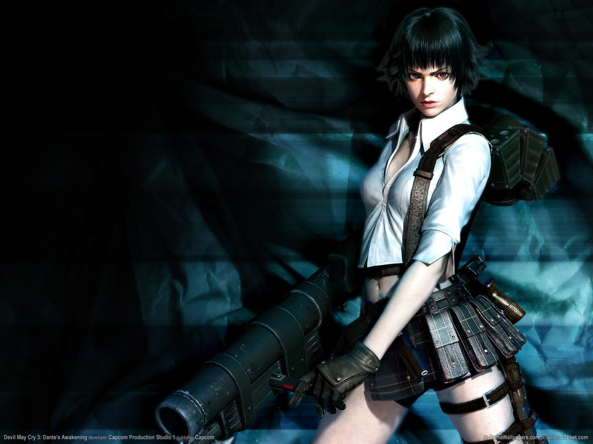 Lady in Devil May Cry