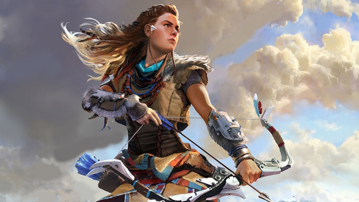 Aloy in Horizon Zero Dawn