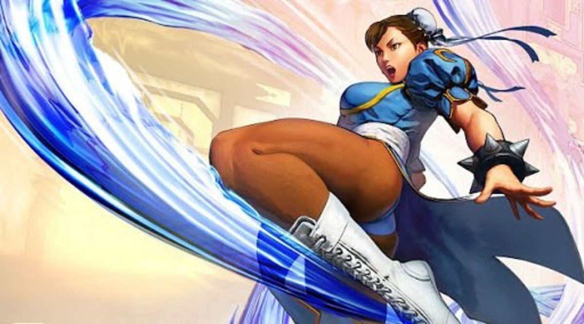 Chun-Li in Street Fighter 5