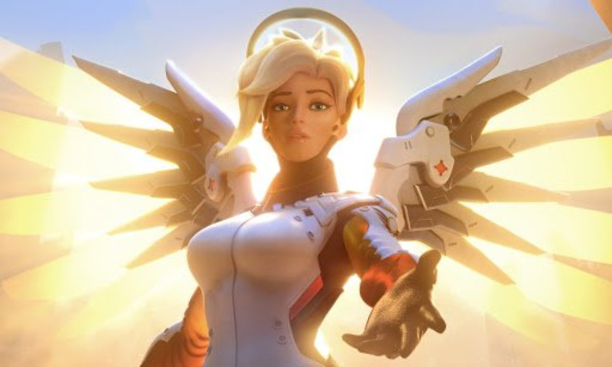 Mercy in Overwatch