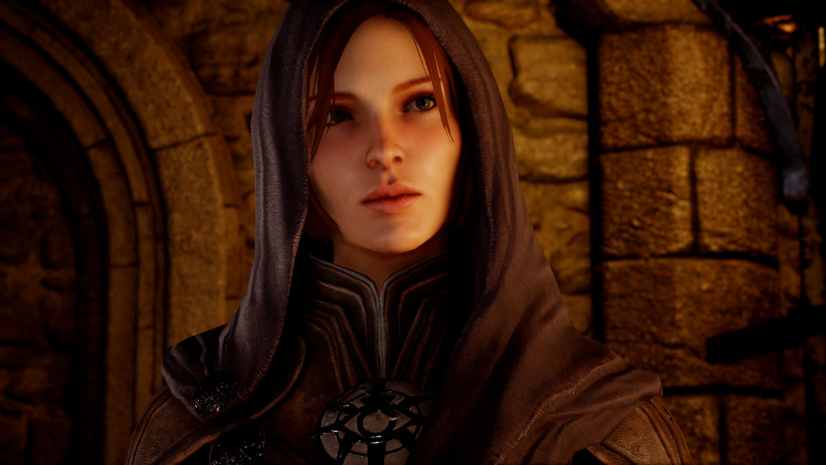 Leliana in Dragon Age