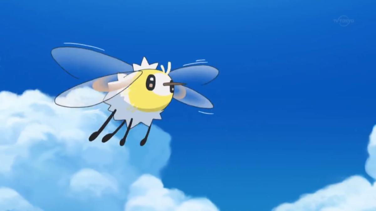 Cutiefly buzzing around an island