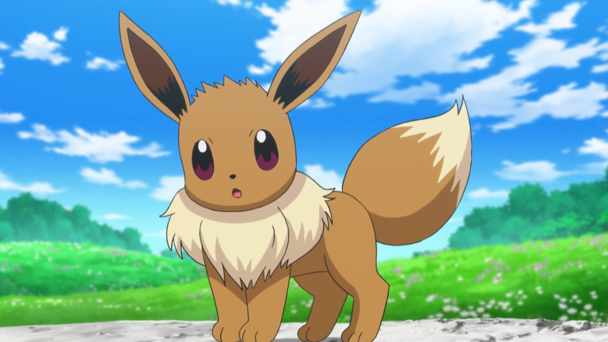 Ash's travelling partner through the Kalos region, Serena, has an Eevee of her own.