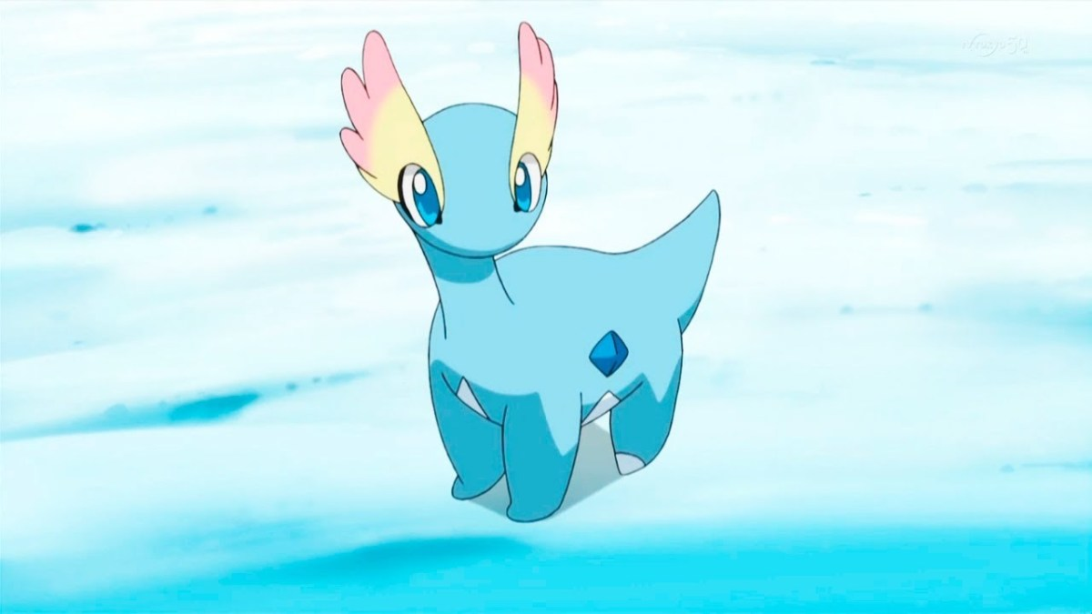 "Amaurus, as seen in an episode of ""Pokémon XY"""