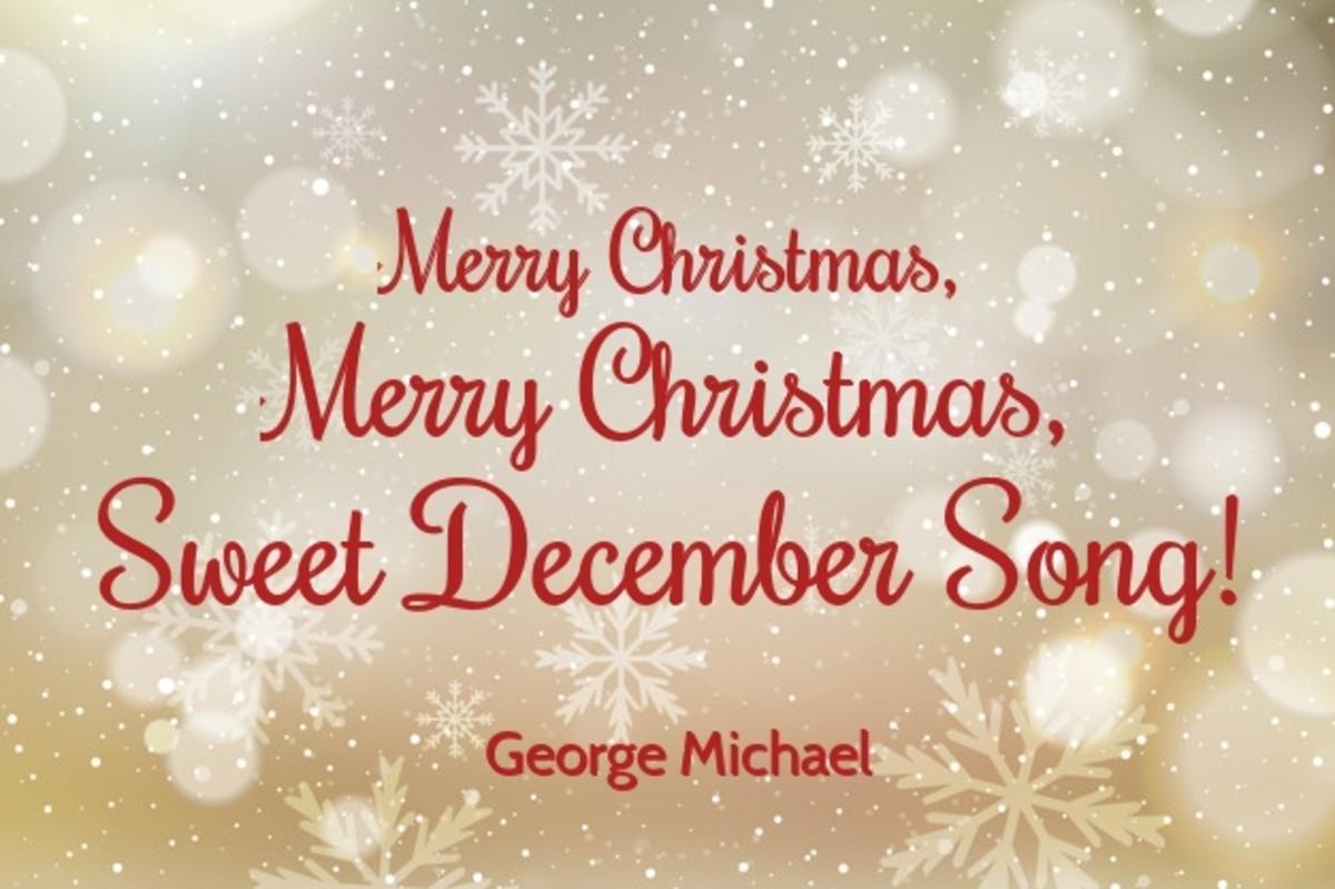 Merry Christmas, Merry Christmas, Sweet December song!