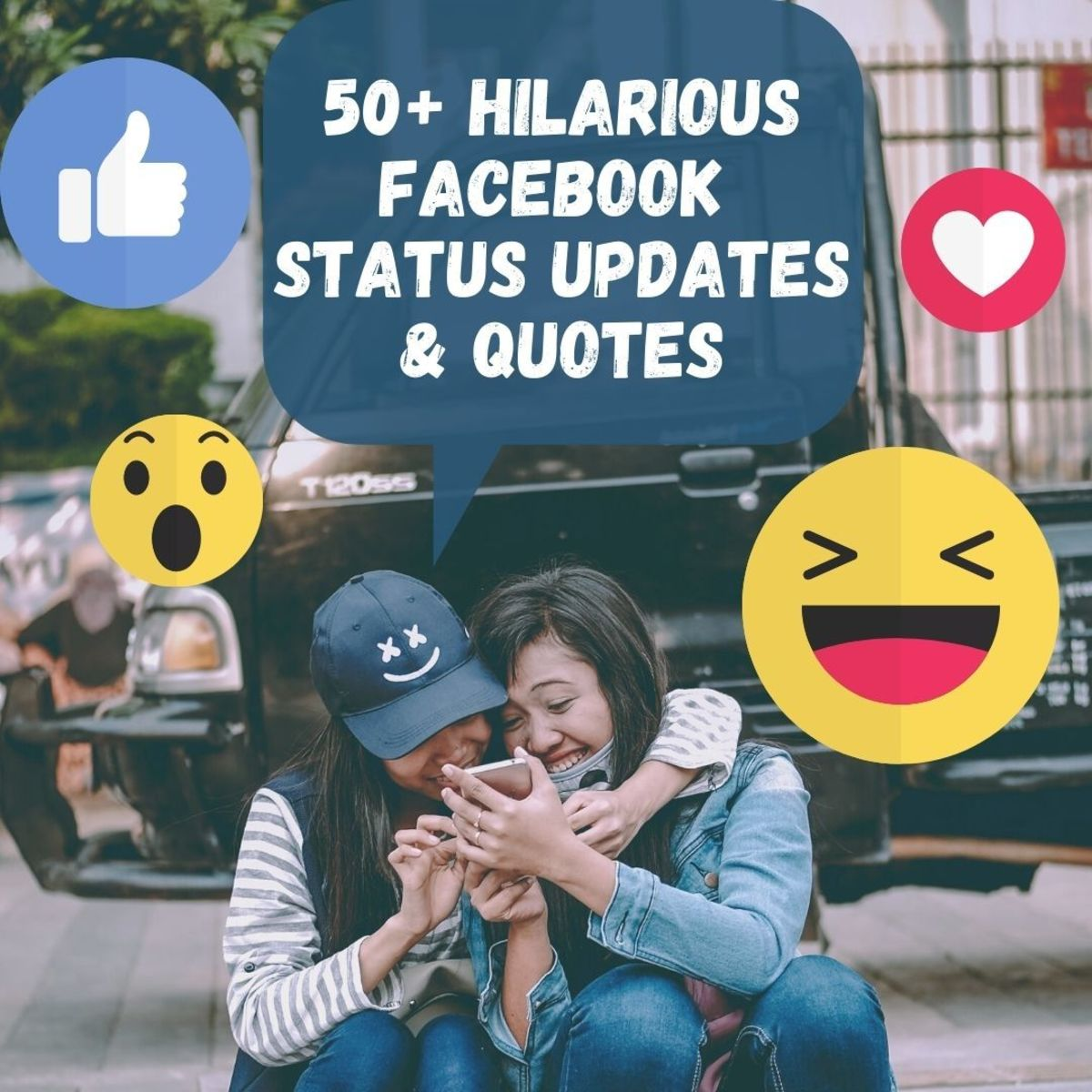 Check out these awesome, hysterically funny Facebook status updates!