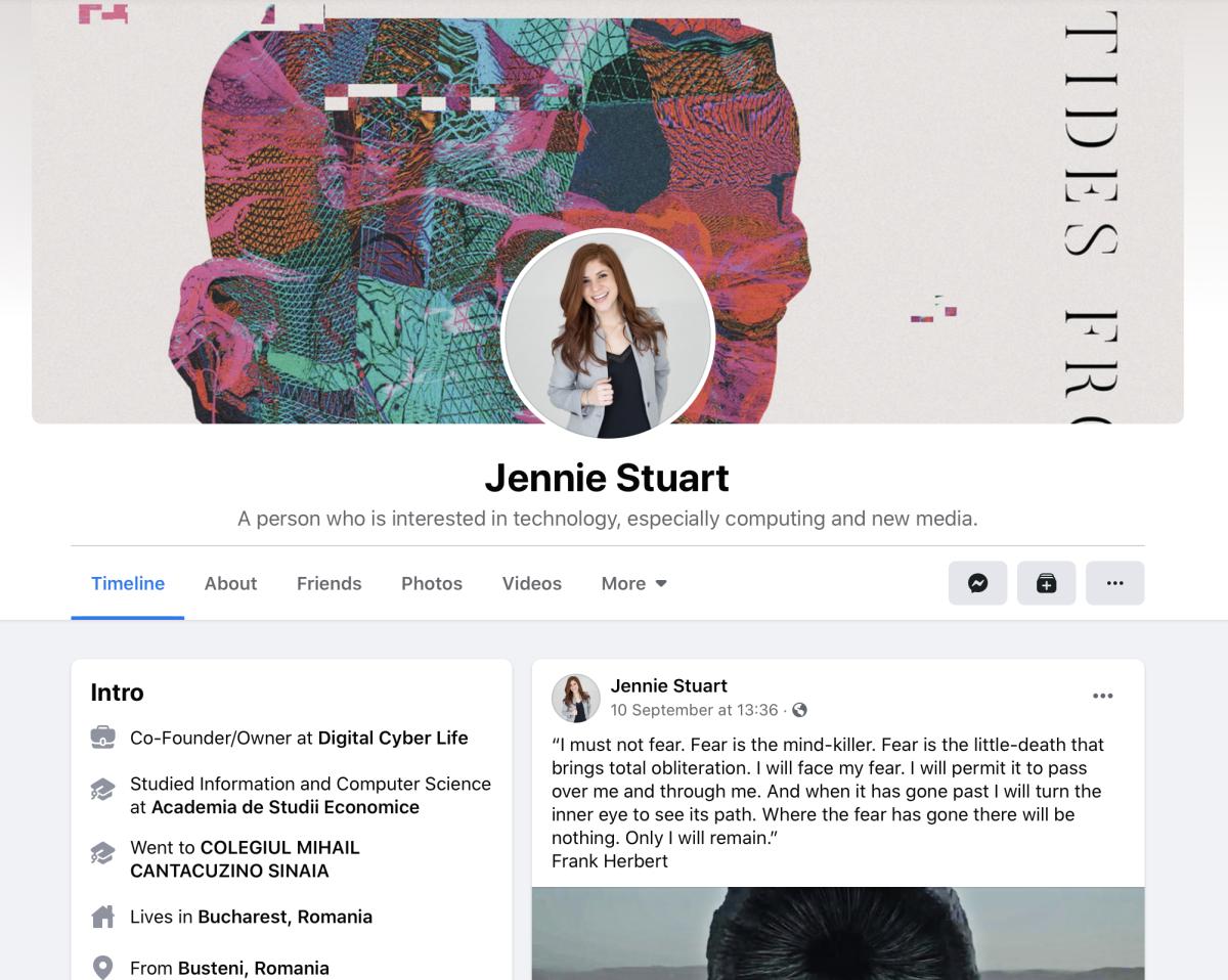 Create a distinctive profile