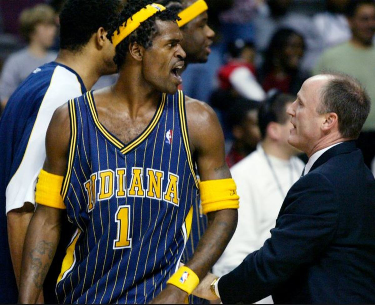 Stephen Jackson was one of the main figures in the infamous Malice in the Palace brawl.