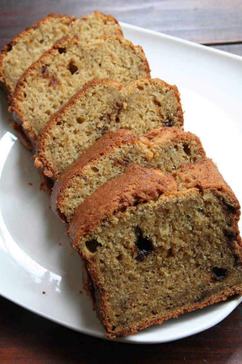 Quick and Easy Banana Cake Recipe