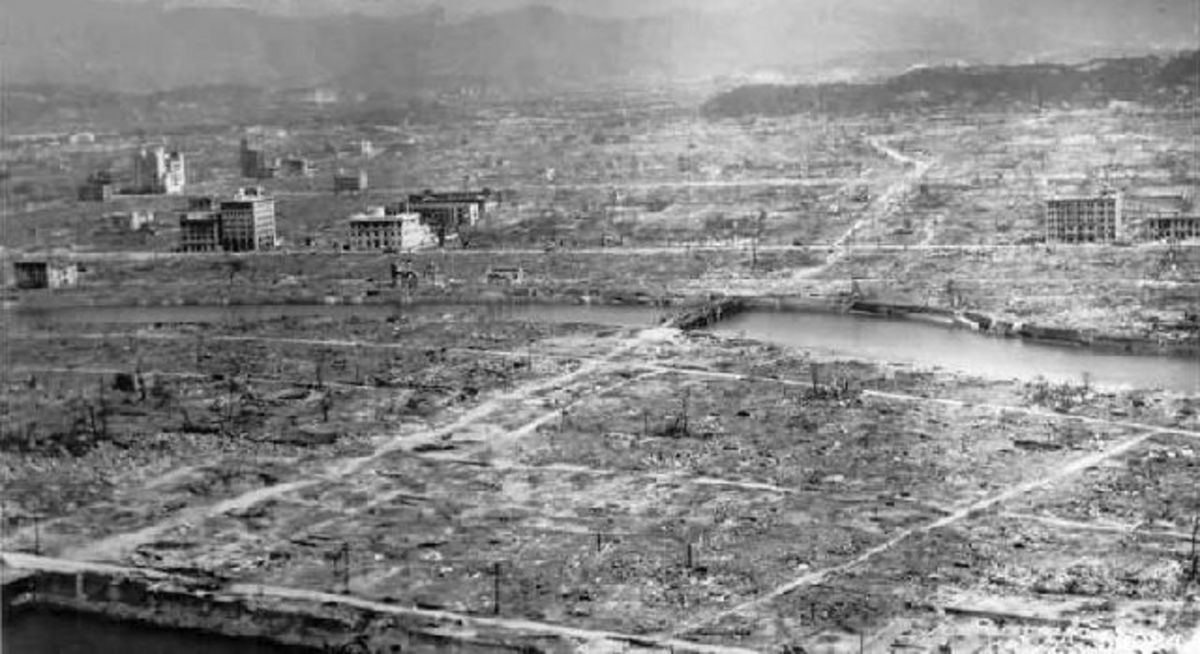 What was left after the bombing