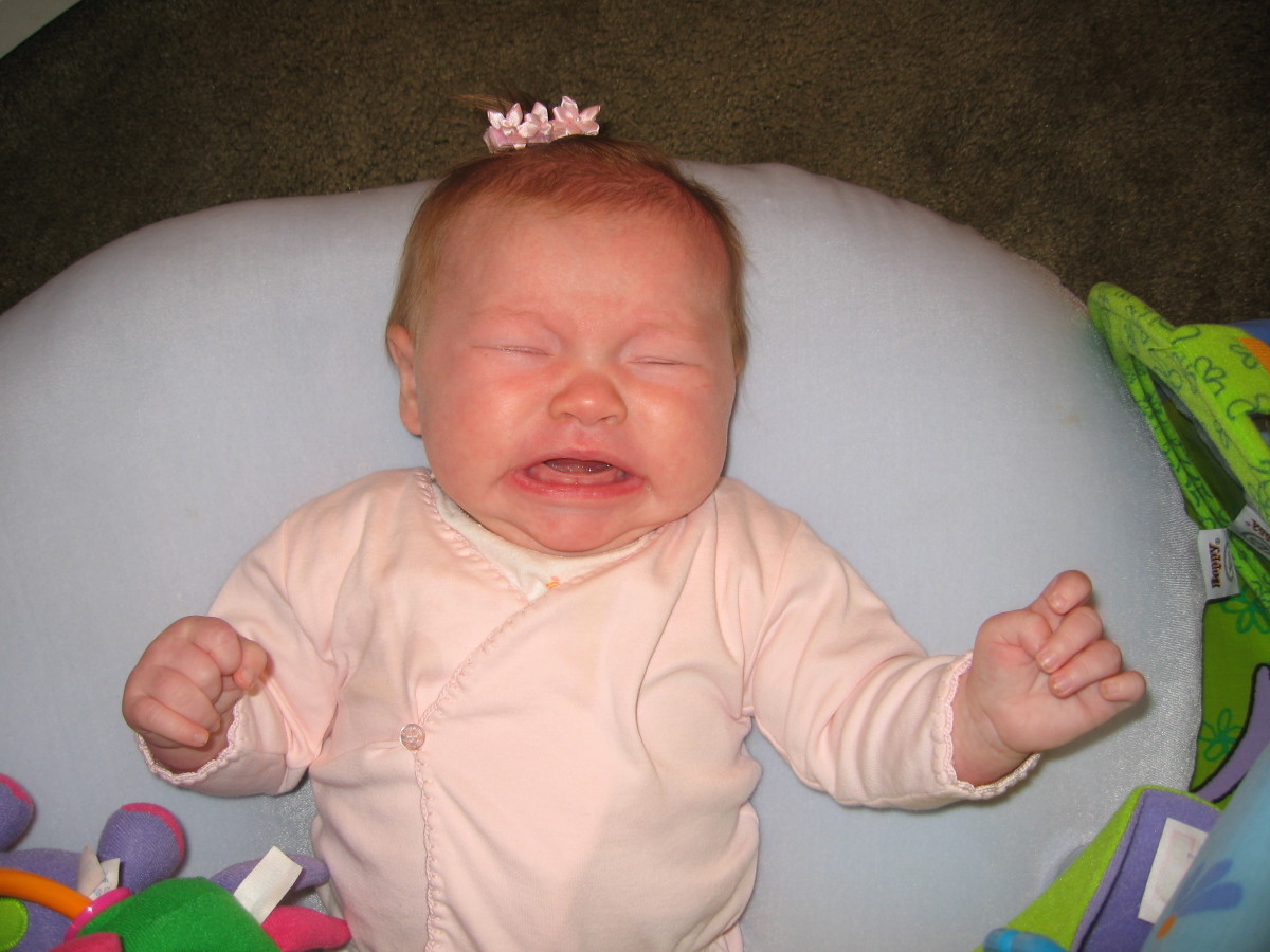 Why is My Newborn Baby Crying?  Interpreting Your Baby's Cries