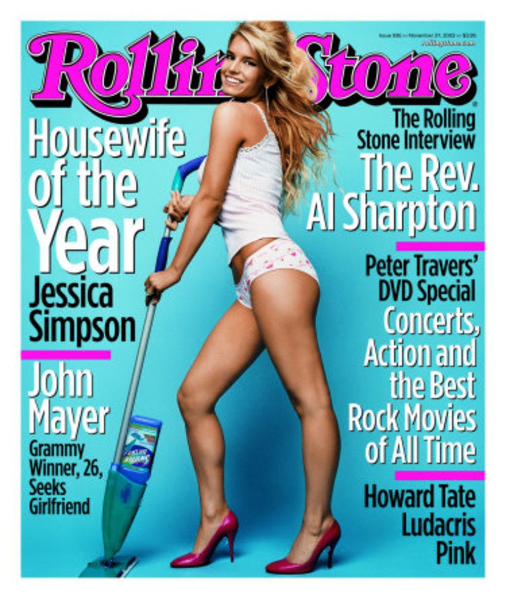 Jessica in Rolling Stone Magazine, November 2003