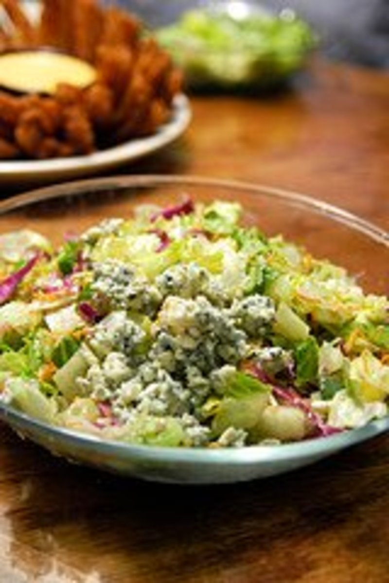 Outback Steakhouse Bleu Cheese Chopped Salad