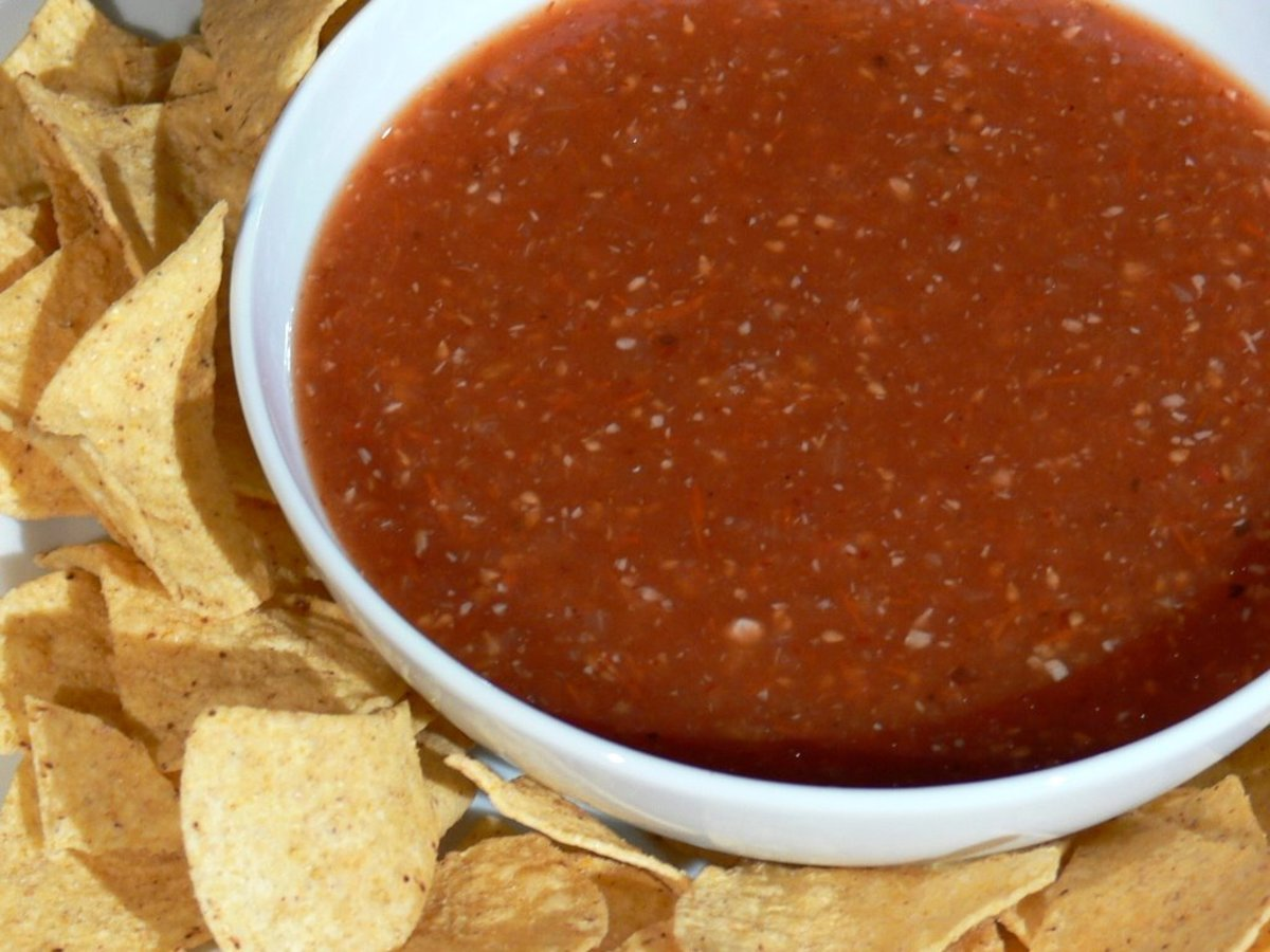 mexican hot sauce recipe. A delicious spicy tomato based ...
