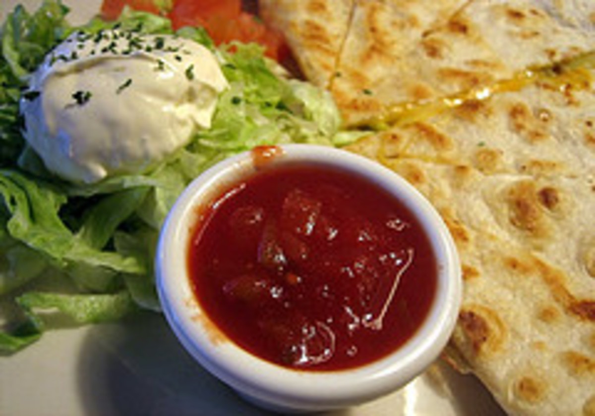 Ruby Tuesday Chicken Quesadillas
